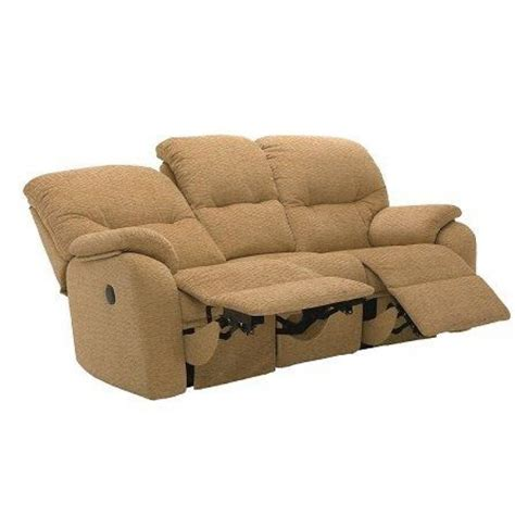 G Plan Settees by G Plan Mistral Power Reclining 3str Sofa Reclining