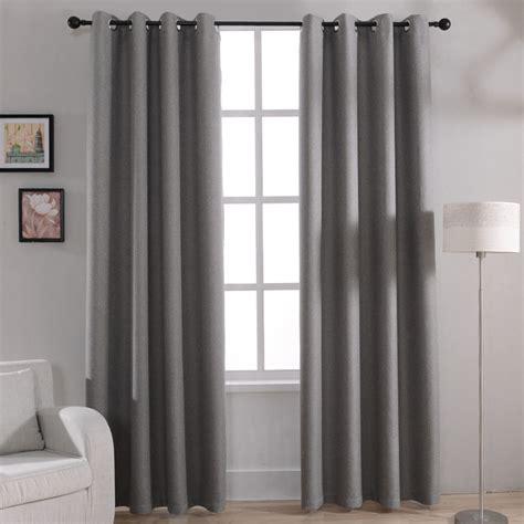 rideau de fenetre de chambre aliexpress com acheter moderne solide blackout rideaux