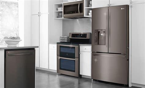 black stainless steel appliances   kitchen