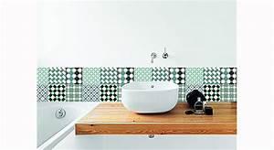 Papier Adhésif Carreaux De Ciment : carreaux de ciment les motifs r tro font de l effet ~ Premium-room.com Idées de Décoration