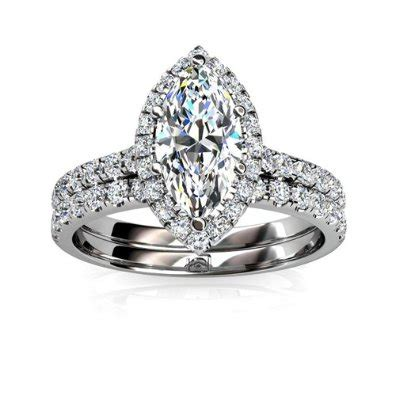 marquise wedding set marquise shaped rings engagement rings review