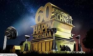 Geburtstagsbilder Zum 60 : kostenlose geburtstagskarte zum 60 geburtstag im stile von hollywood happy birthday ~ Buech-reservation.com Haus und Dekorationen
