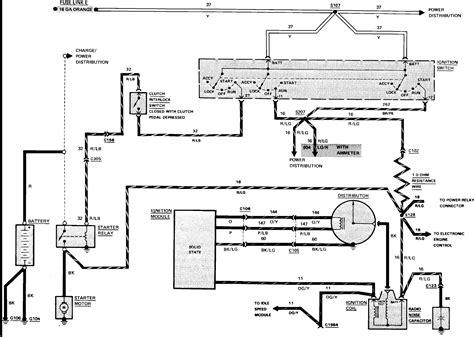 1986 Ford Ranger Starter Wiring Diagram i need the wiring diagram for a 1986 ford ranger someone