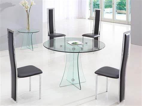 small round table and chairs lovely glass round dining table and chairs round table