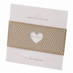 Einladungskarten Für Hochzeit : hochzeitskarte aus recycling kraftpapier mit banderole inkl herz hochzeitskarten ~ Yasmunasinghe.com Haus und Dekorationen
