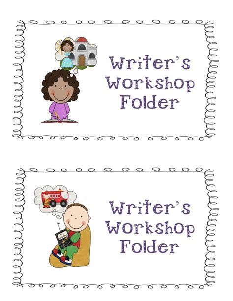 Writer's Workshop Folder Labels  Wrtiter's Workshop