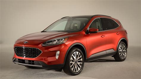 ford escape revealed     hybrid  phev