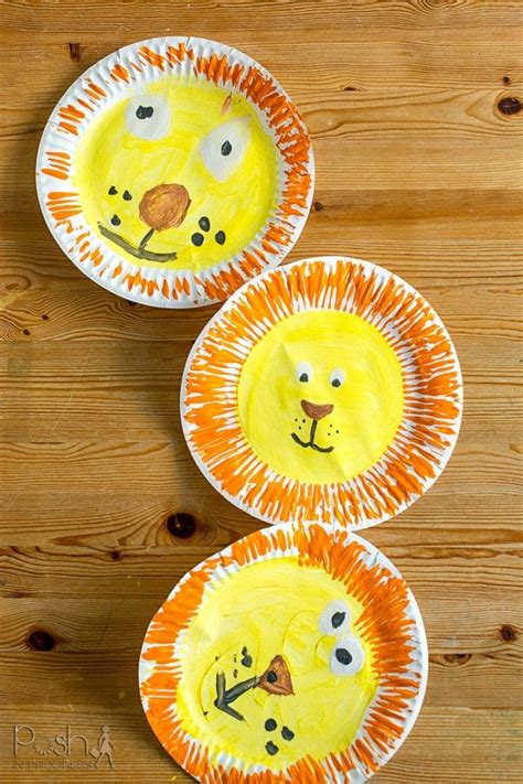 quick easy lion craft ideas  kids