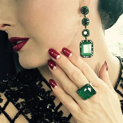 dita von teese nails 25 best images about celebrity nails paznokcie gwiazd on
