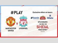 Book tickets to Social #PLAY Manchester United Vs