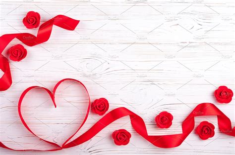 valentines background  red heart holiday