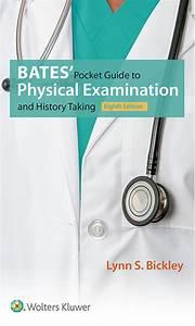 Bates U0026 39  Pocket Guide To Physical Examination And History