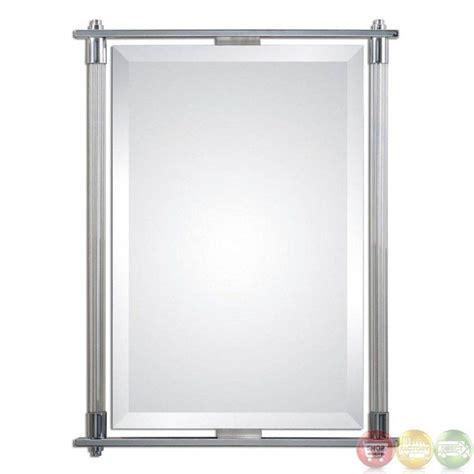 Bathroom Mirrors Chrome by 30 Ideas Of Chrome Framed Mirrors