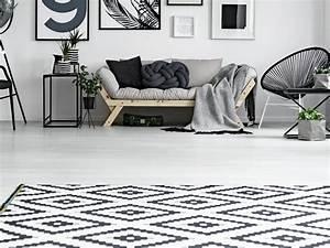 Teppich Schwarz Weiß : teppich reinigen tipps f r die teppichreinigung ~ Markanthonyermac.com Haus und Dekorationen