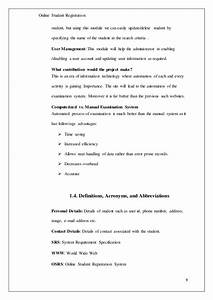 online student registration system With student registration system documentation