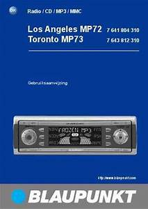Blaupunkt Toronto Mp73 Car Radio Download Manual For Free