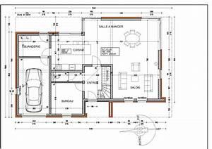 plan de la maison notre maison au clos des fauvettes With plan maison rez de chaussee