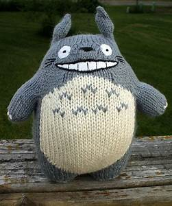Body Shape Chart Knitted Totoro A Bear Plushie Yarncraft On Cut Out