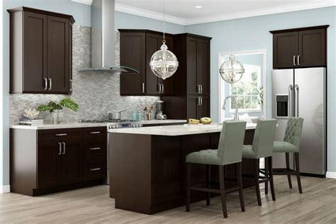 rta kitchen cabinets ready to assemble kitchen chocolate shaker ready to assemble kitchen cabinets