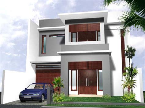 gambar model rumah idaman minimalis modern nulis