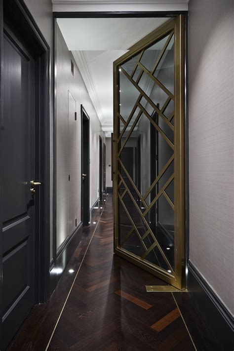 boscolo interior design mayfair apartment hallway