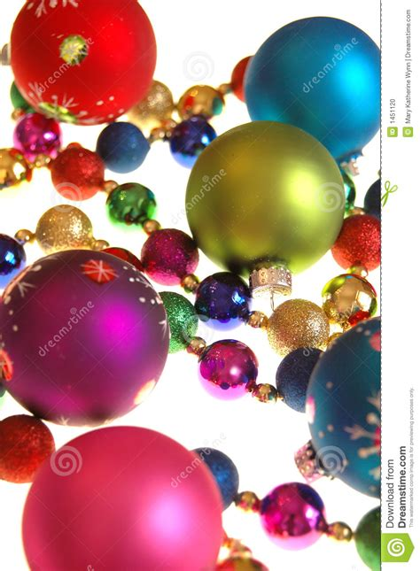 colorful christmas decorations stock photo image 1451120