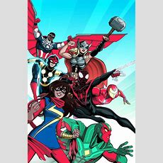 New Look At Allnew Alldifferent Avengers