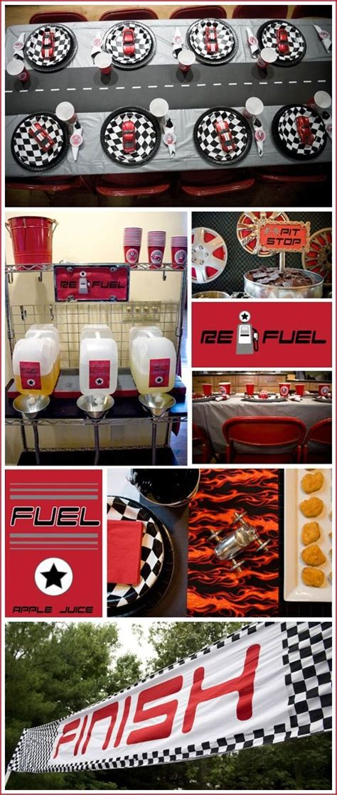 For The Boys Race Car Themed Party Occasions