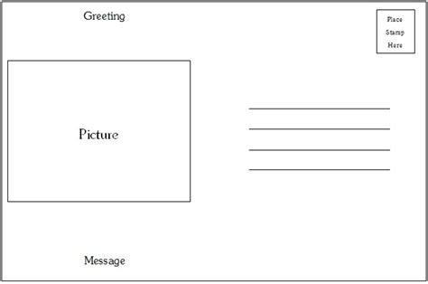 postcard template category page  efozacom