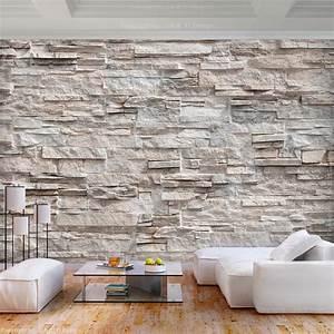 Fototapeten 3d Effekt : vlies fototapete steinoptik sandstein steinwand 3d effekt ~ Watch28wear.com Haus und Dekorationen
