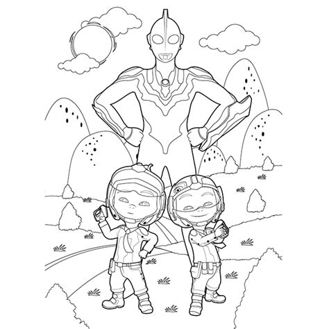 Upin Ipin Free Coloring Pages