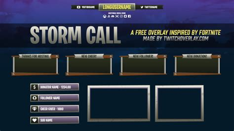 twitch overlays alerts graphics