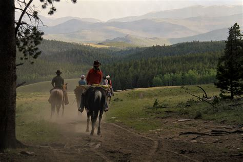 campfire horseback riding stories ranch places vacations guest