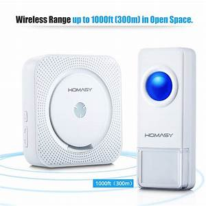 Homasy Wireless Doorbell Review  Pros  U0026 Cons And Verdict