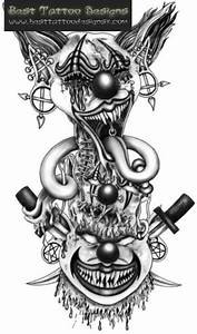 41 best Tattoo Drawings Evil Jack In The Box images on ...
