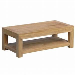 Table Basse Bois Pas Cher : table basse bois massif achat vente pas cher cdiscount ~ Carolinahurricanesstore.com Idées de Décoration