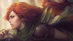 Windrunner - DotA 2 Wallpaper