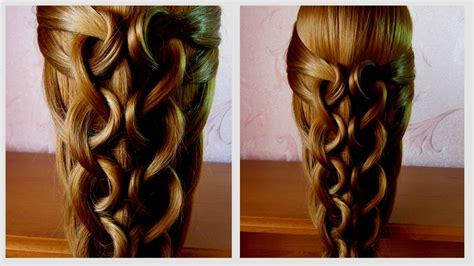 merveilleux de coiffure facile pour cheveux long tuto
