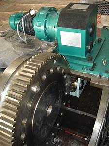 Electric Turning Gear For Steam Turbines