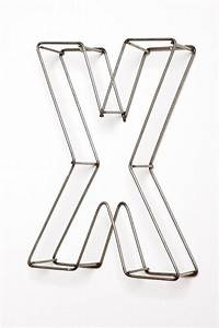 1000 images about letter on pinterest alphabet With wire frame letters