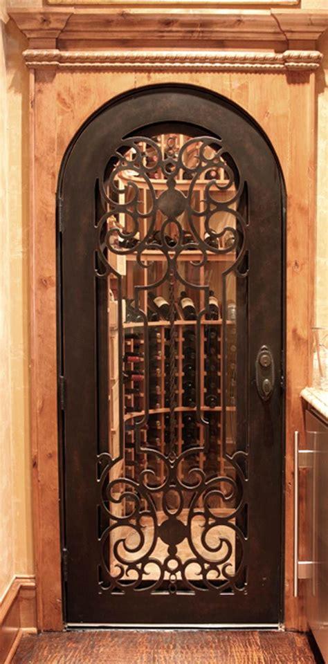 wine cellar iron doors houston venetian view