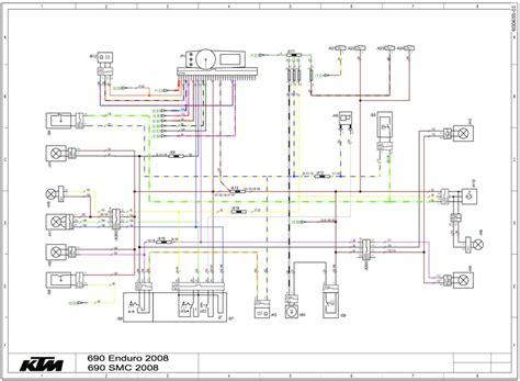 Ktm 690 Enduro R Wiring Diagram trail tech vector install on a 08 ktm 690 enduro