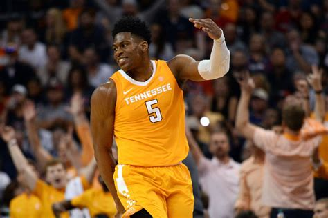 meet admiral schofield tennessees unique  nba draft