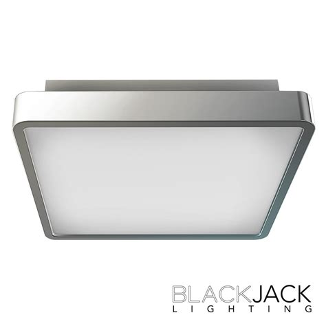 surface 12 quot led flush mount blackjack lighting