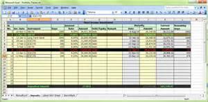 Sales Funnel Template Excel Excel Portfolio Tracker Moneyscaling