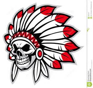 headdress for wedding indian chief mascot clipart 74