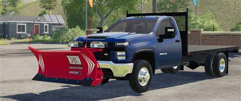 fs  chevy hd single cab flatbed truck