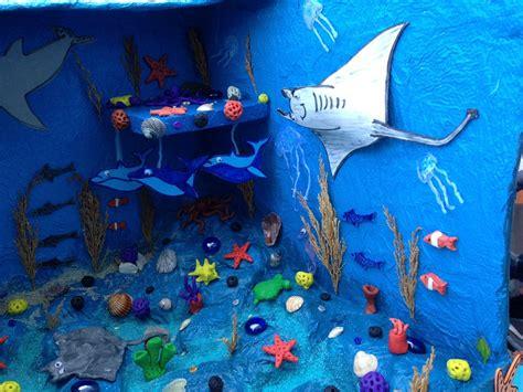maqueta oceano maqueta escolar en papel ecosistema marino mickey 17 best about el