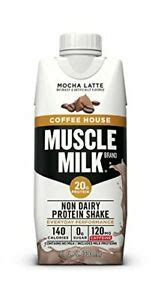 These familiar and delicious flavors are. Muscle Milk Coffee House Protein Shake Mocha Latte 11 FL OZ 12 Pack | eBay