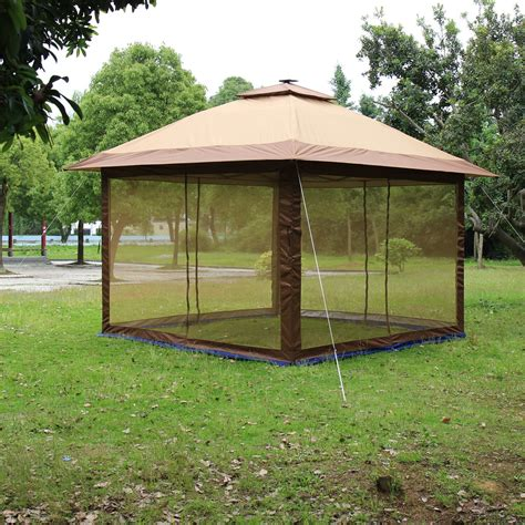 suntime ft ft metal portable gazebo reviews wayfair
